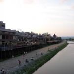 日本里帰り日記・三条大橋からの眺め