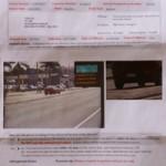オーストラリアでスピード違反!