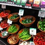 ウールワースの野菜売り場